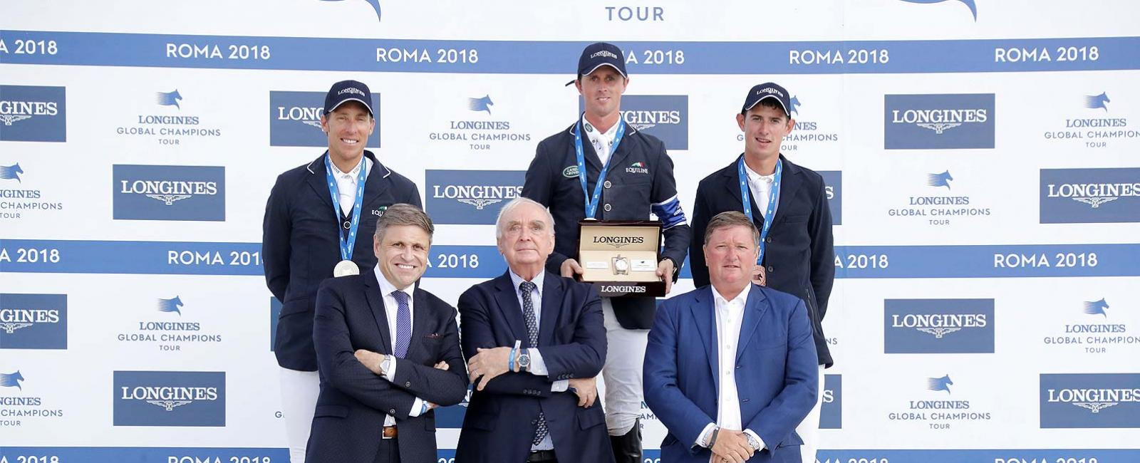 Longines Global Champions Tour; Roma; 2018; Jumping