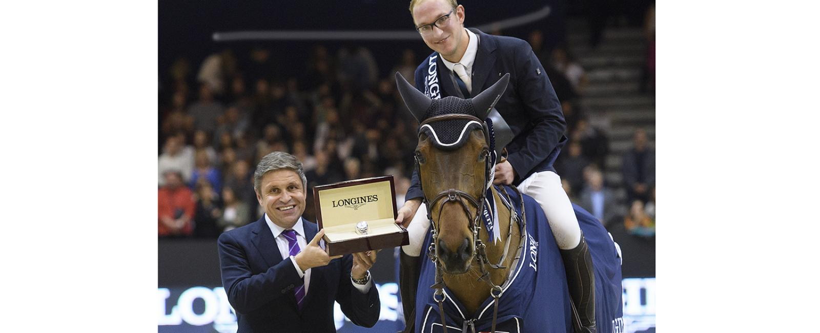 Germany's Tobias Meyer and Cathleen claimed the Longines Grand Prix at Equita Lyon, Official Partner, FEI World Cup, Western European, Germany, Longines
