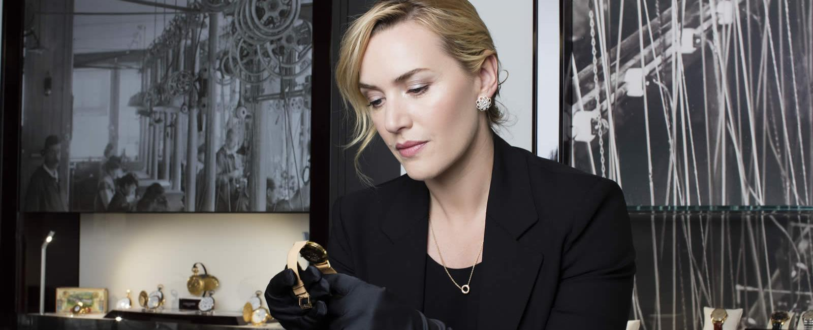 Longines honoured to welcome Ambassador of Elegance Kate Winslet to Saint-Imier