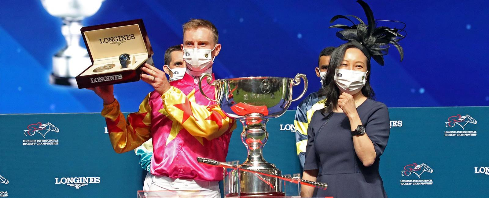 Longines International Jockey's Championships; Zac Purton, Horse Racing, 2020