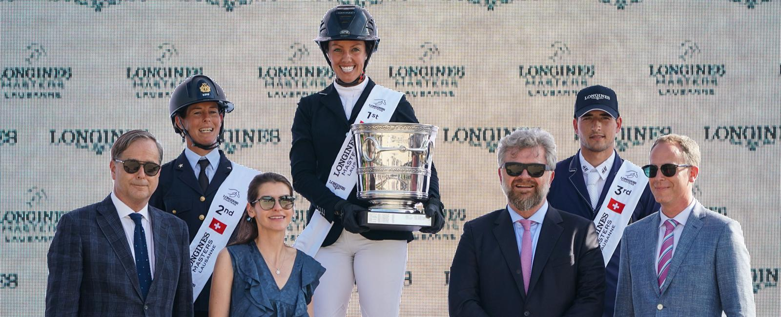 Longines Masters of Lausanne; Jumping; 2019