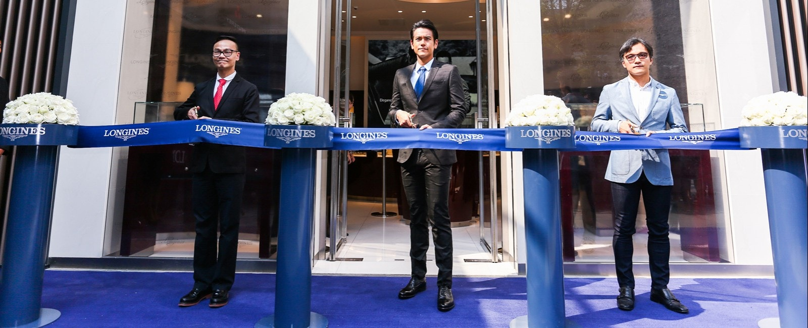Longines officially inaugurates the Taikoo Li Chengdu Corporate Store in presence of Ambassador of Elegance Eddie Peng