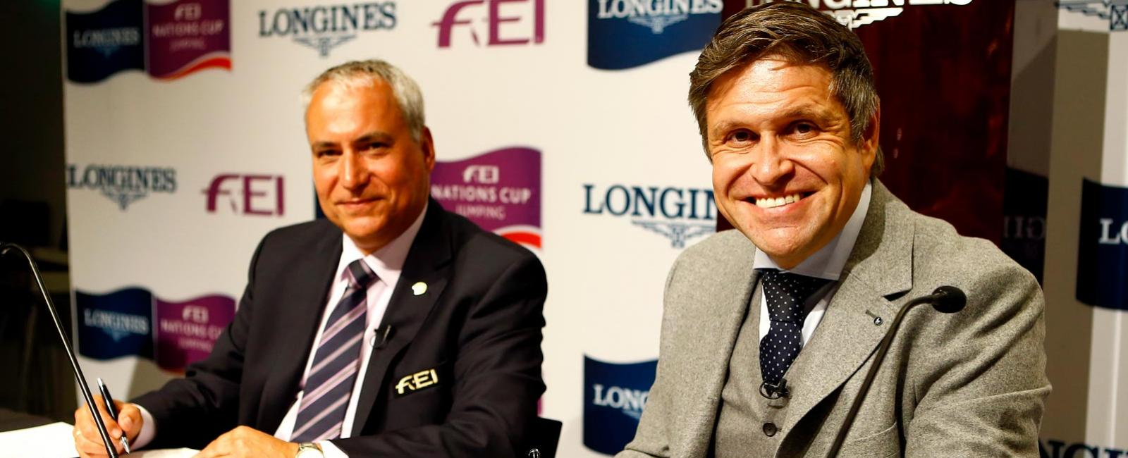 New partnership, Longines and FEI Nations Cup, 2017, long-term partnership