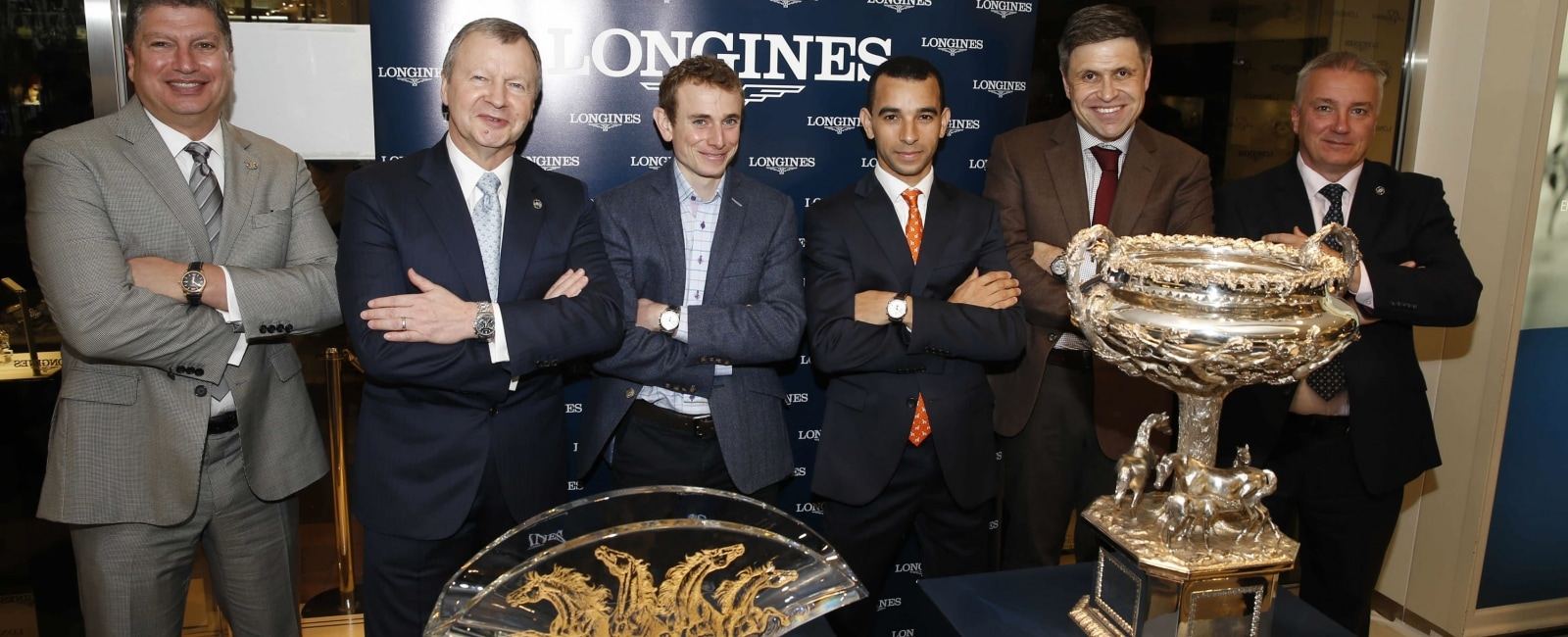 Longines Star House boutique in Hong Kong, Jockey, meet, Longines Hong Kong international Races, Trophy