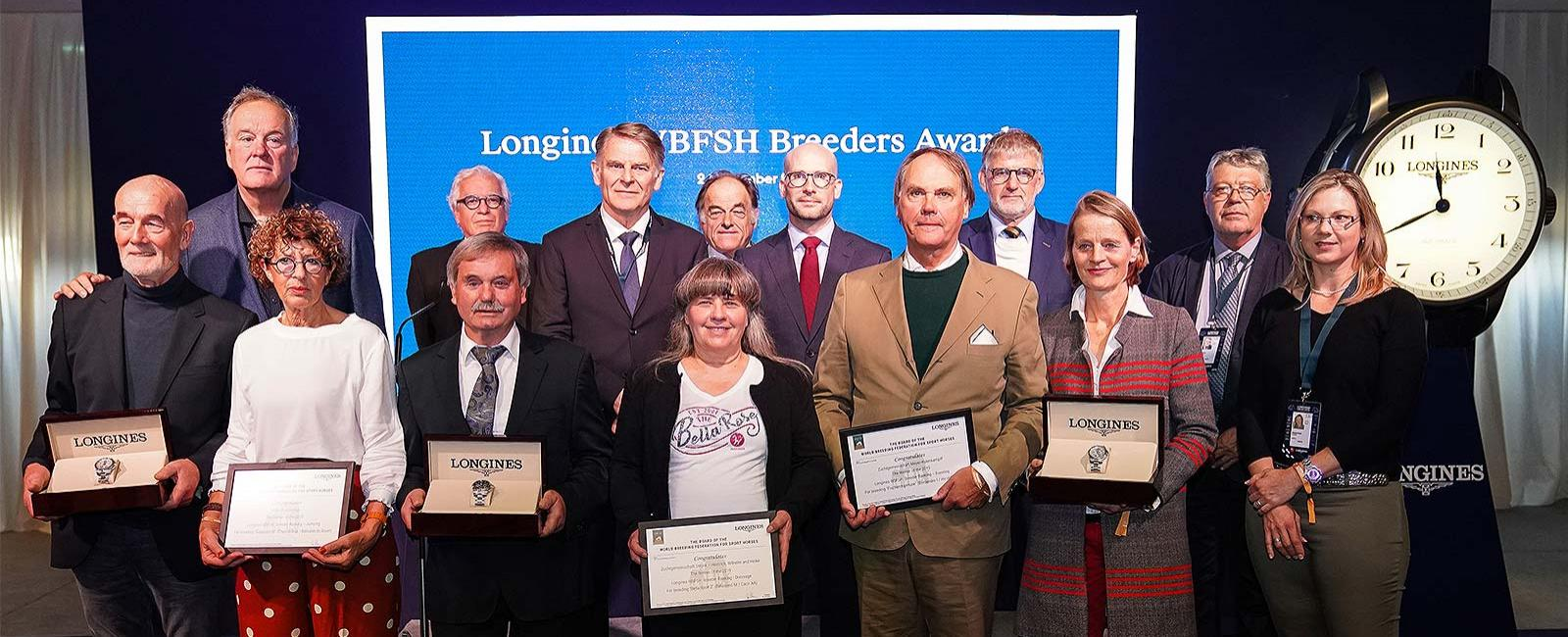 The 2019 Longines WBFSH Breeders Awards; Breeding; Equestrian; 2019