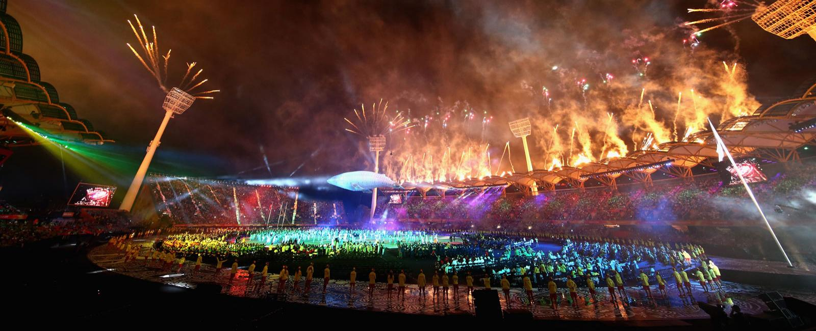 Commonwealth Games;Gold Cost; Opening Ceremony;2018
