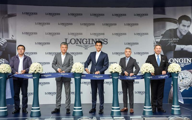 Ambassador of Elegance Eddie Peng joins Longines for the Grand Opening of its newest boutique in Shenyang