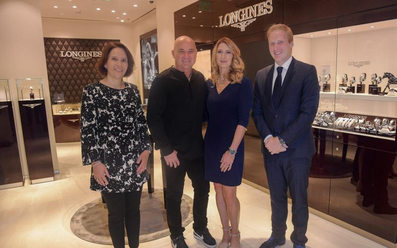 Las Vegas, Tourbillon boutique, Longines opening