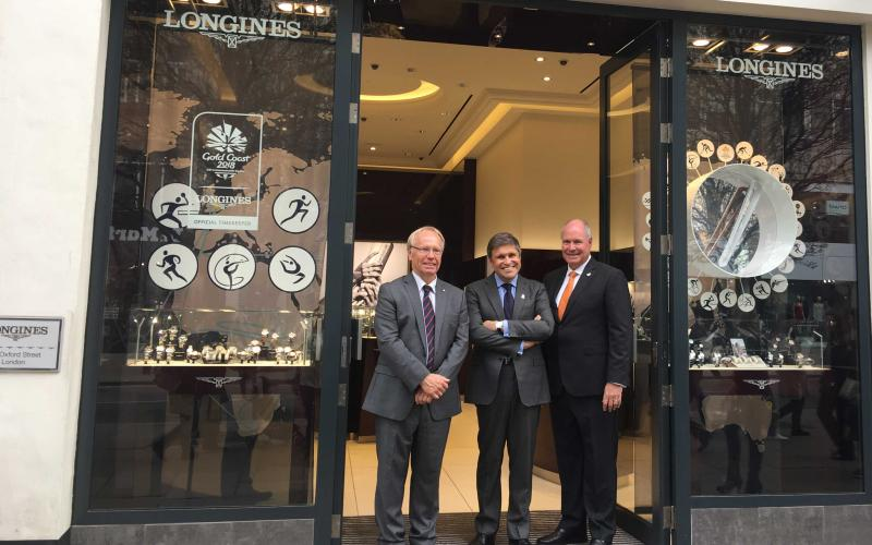 Commonwealth Games 2018; Longines Boutique Oxford Street
