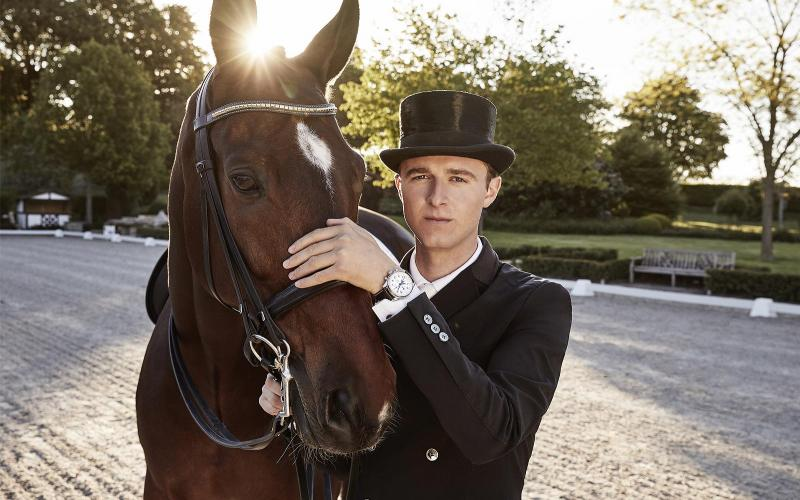 Dressage's rising star Sönke Rothenberger has become a Longines Ambassador of Elegance; Dressage; 2019