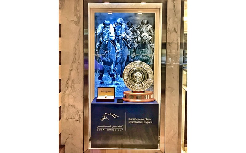 Dubai World Cup & The Dubai Sheema Classic;Presented by Longines;Longines Master Collection;Trophy