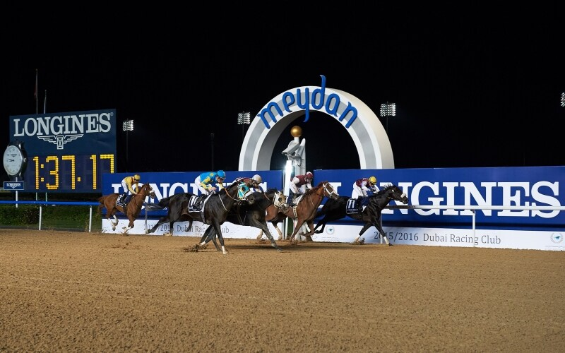 Longines was at the Meydan racecourse to launch the 2016 Dubai World Cup Carnival