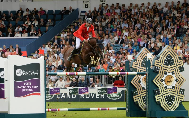 Furusiyya FEI Nations Cup™ Jumping presented by Longines at 2016 Dublin Horse Show won by Team Italy