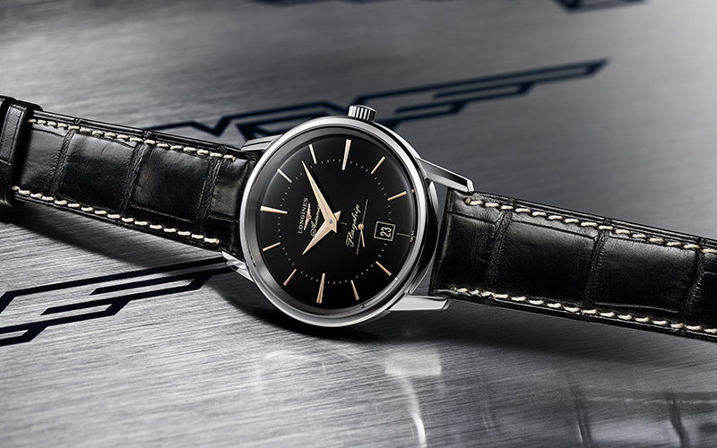 Elegant and timeless, the Flagship Heritage dares to go black