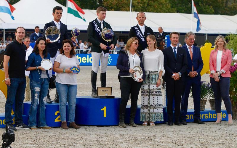 FEI/WBFSH World Breeding Jumping Championships for Young Horses; Springreiten; 2019