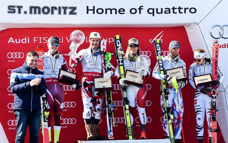 FIS World Cup Finales Ladies and Men St-Moritz;Alpine Skiing;2016