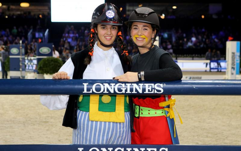 The Longines Masters of Paris; Jane Richard Philips; December; 2016