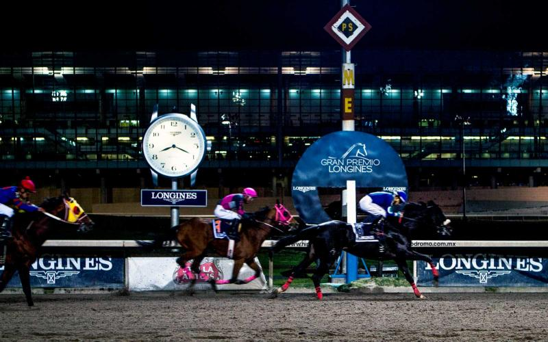 Mr. Pai rode by Miguel Angel Rodrígues won the Gran Premio Longines in Mexico