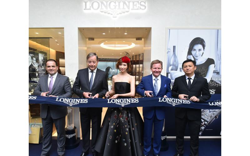 Chi-Ling Lin Joins Longines in Malaysia To Celebrate The Grand Opening of New Longines Boutique in Suria KLCC