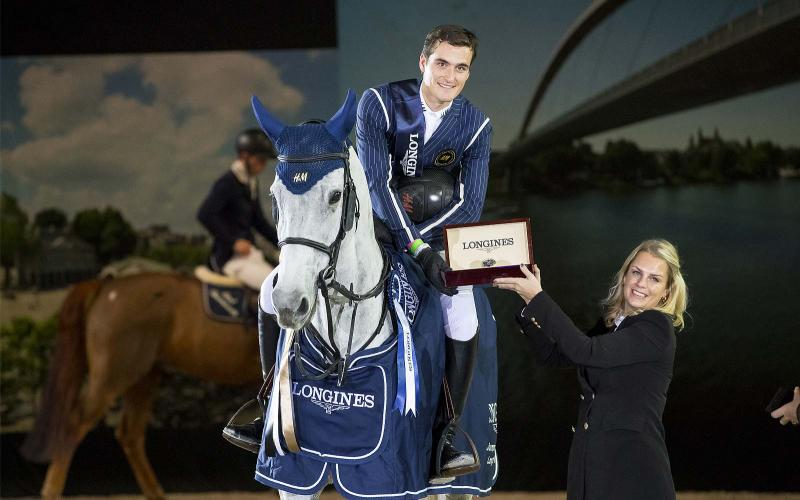 Belgium's Olivier Philippaerts on H&M Legend of Love claims once again the Longines Trophy - Grand Prix of Maastricht