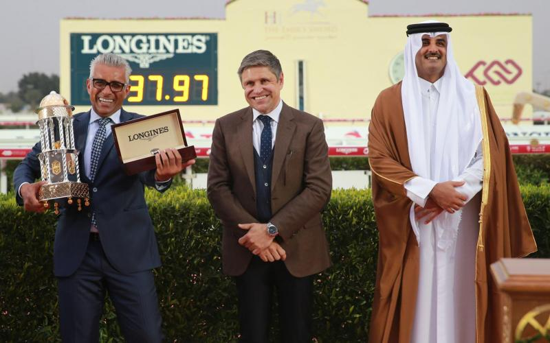 HH Emir's The Trophy presented by Longines; February; 2017