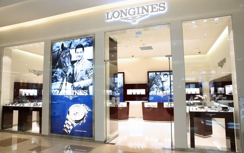 Inauguration of Taiwan's third Longines boutique store enhanced by Ambassador of Elegance Eddie Peng