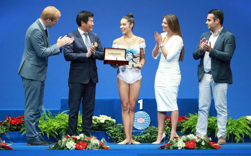 35th Rhythmic Gymnastics World Championships 2017 in Pesaro, italy, Alexandra Agiurgiuculese, prize for elegance