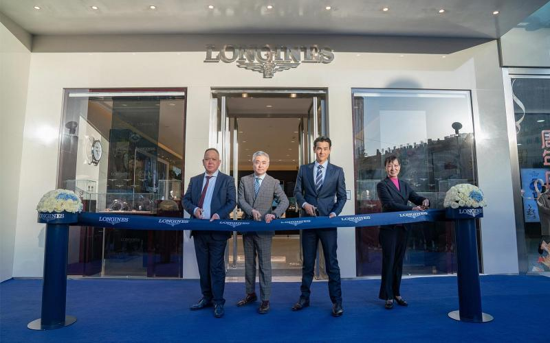 Longines; Ambassador of Elegance; Eddie Peng; inaugurated; new Boutique; Zhengzhou