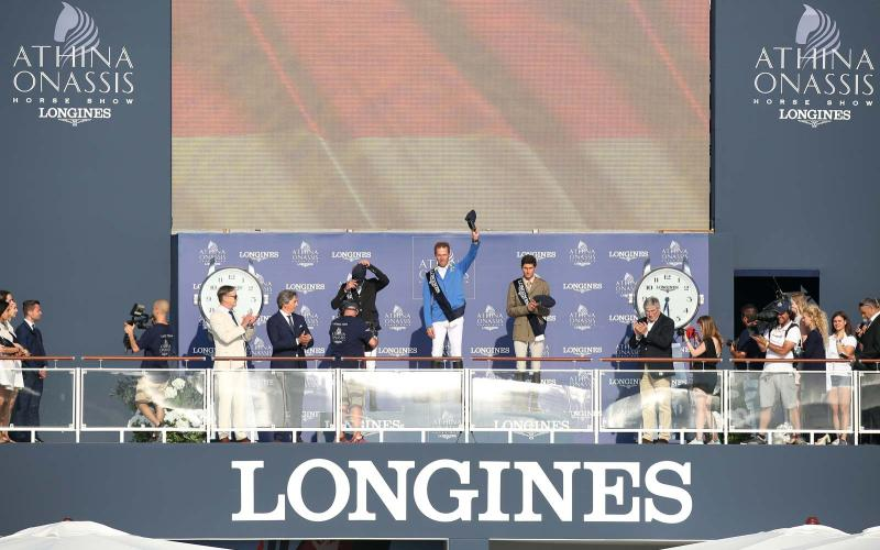 German rider claims the Longines Grand Prix !