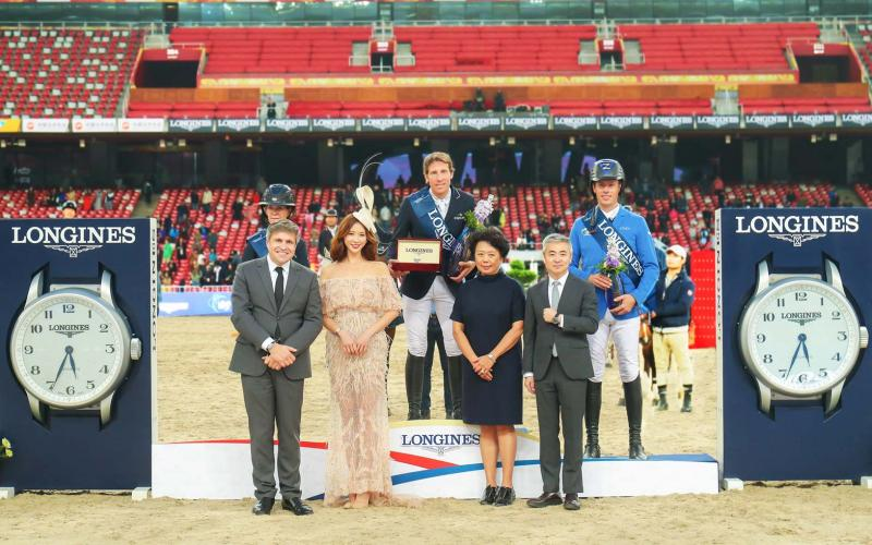The Longines Grand Prix claimed by Henrik von Eckermann at the 2017 Longines Equestrian Beijing Masters