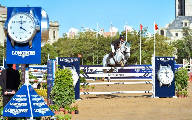Olivier Guillon remporte la 2ème étape du Longines China Tour