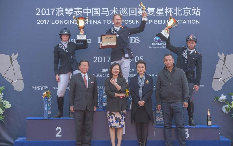 Dutch victory at the Longines China Tour's third leg