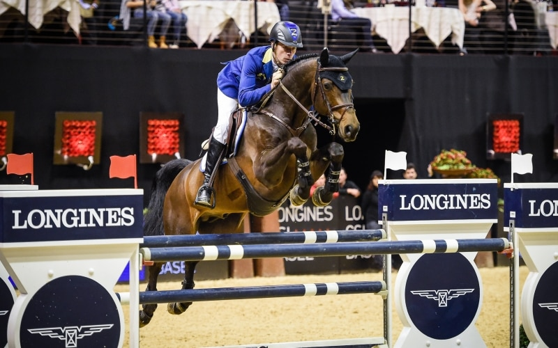Christian Ahlmann wins the Longines Grand Prix in Basel