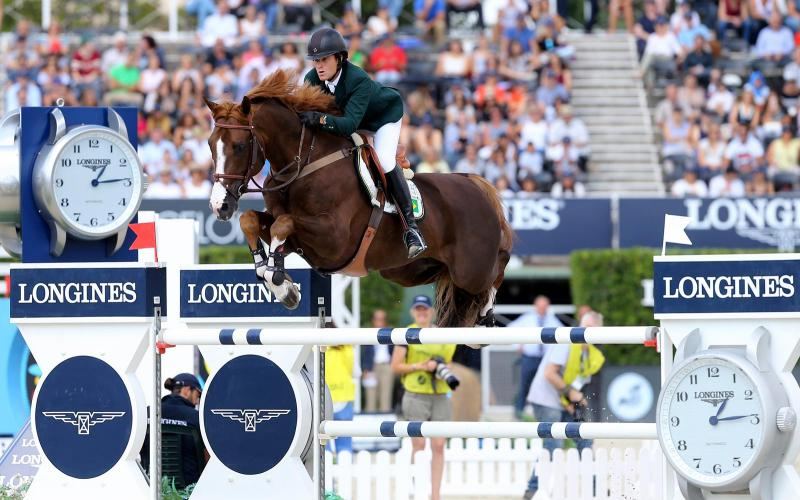 Darragh Kenny on Go Easy de Muze won the Longines Cup of the City of Barcelona