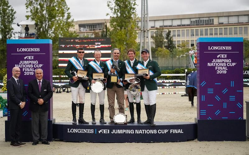 Longines FEI Jumping Nations Cup Final -  CSIO Barcelona; Jumping; 2019