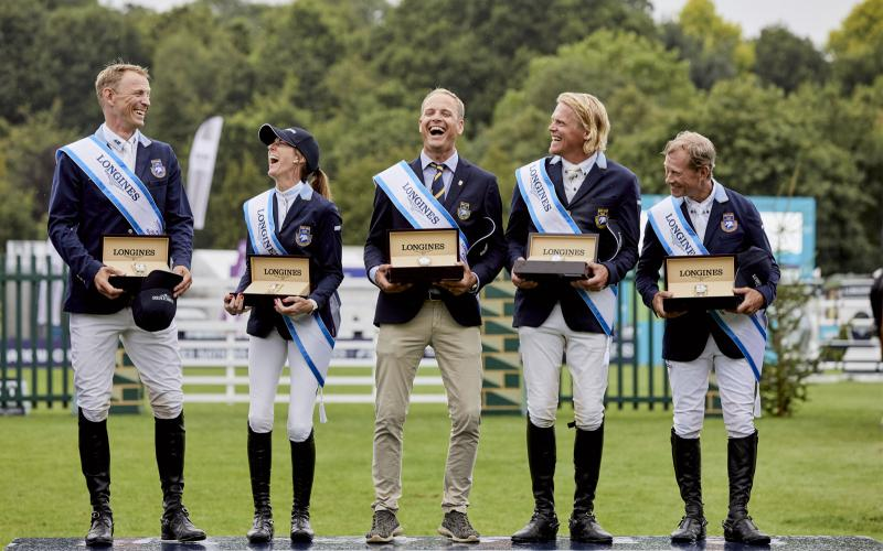 Longines FEI Jumping Nations Cup of Great Britain Die Longines Royal International Horse Show; Springreiten; 2019