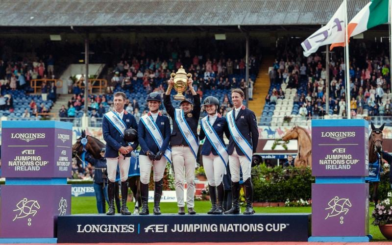 Longines FEI Jumping Nations Cup dell'Irlanda - Dublin Horse Show; Jumping; 2019