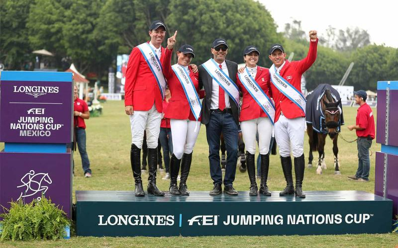 Longines FEI Jumping Nations Cup of Mexico; Coapexpan