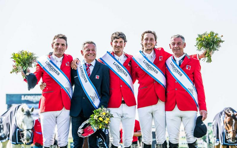 Team Switzerland reigned victorious at the Longines FEI Jumping Nations Cup™ of Slovakia in Samorin