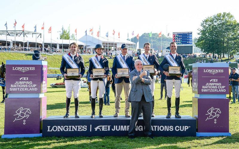 Four days of exciting competitions and exceptional performances for the Longines CSIO St.Gallen