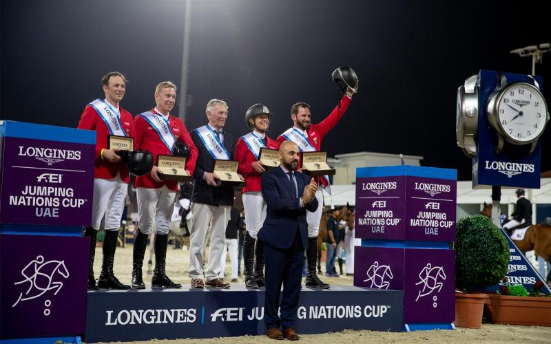 Longines FEI Jumping Nations Cup of UAE 2019 ; Saut d'obstacles ; 2019