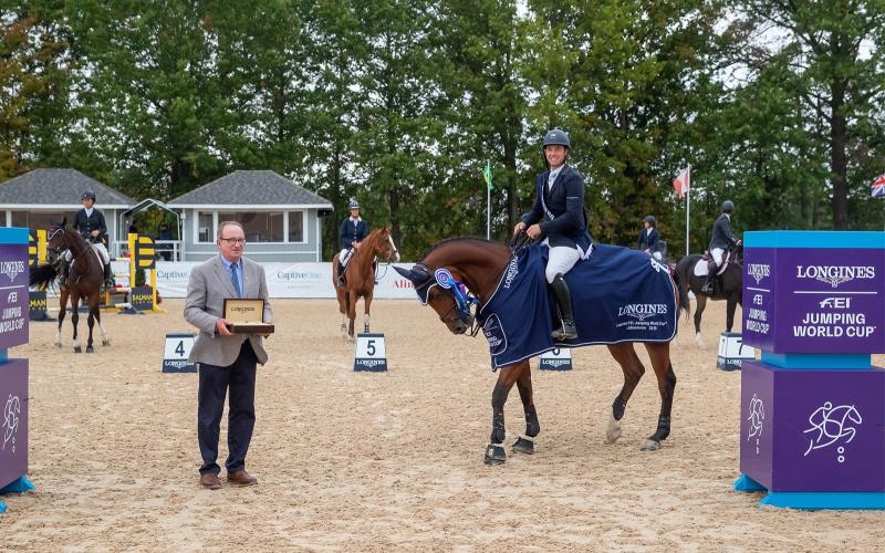 Longines FEI Jumping World Cup North American League - Rancho Murieta; Springreiten; 2019