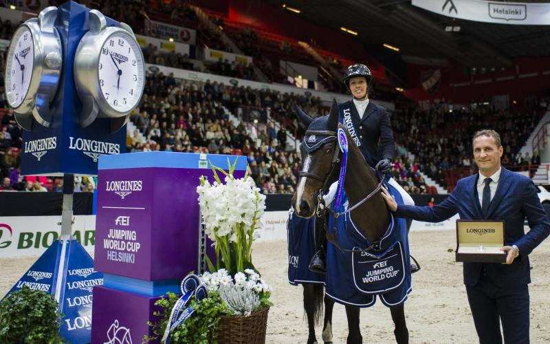 Longines FEI World Cup Western European League; Porsche Helsinki Horse Show