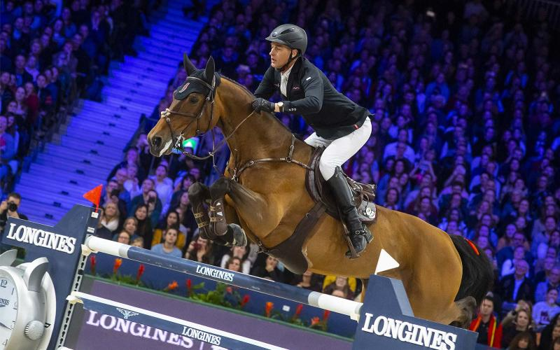 Longines FEI Jumping World Cup Western European League -Jumping Amsterdam; Jumping; 2020