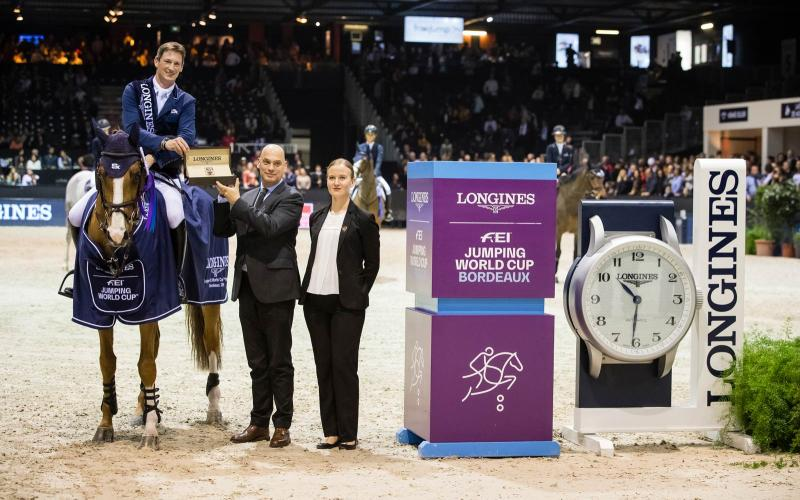 Girone dell'Europa occidentale Longines FEI Jumping World Cup - Jumping International di Bordeaux; Jumping; 2019