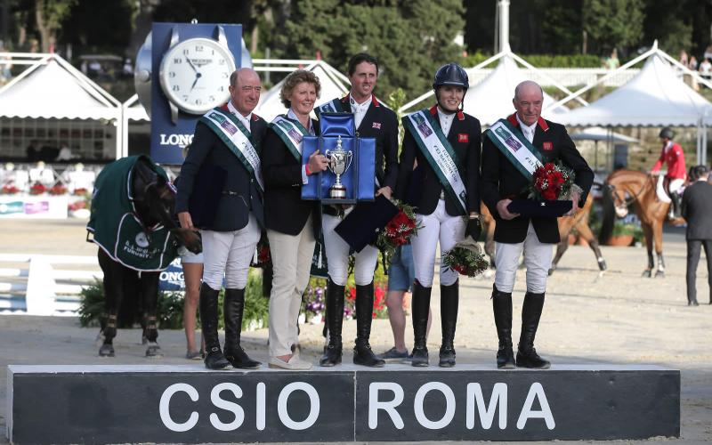 Longines FEI Nations Cup CSIO5 Piazza Di Siena;Jumping;2016