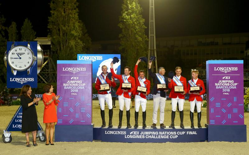 Longines FEI Nations Cup; Division 1; CSIO Barcelona; FINAL;