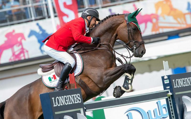 L'équipe mexicaine remporte la victoire lors de la Longines FEI Jumping Nations Cup™ of Ireland