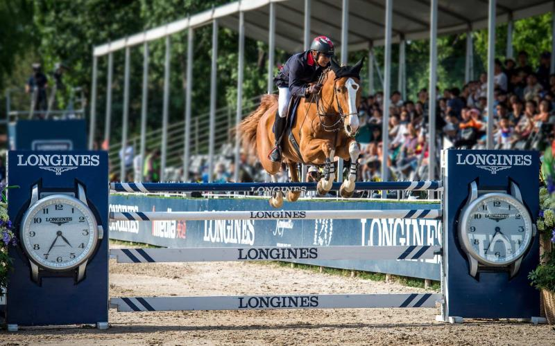Kenneth Cheng remporte sur Chaccopia la deuxième manche de la Longines FEI World Cup™ Jumping China League