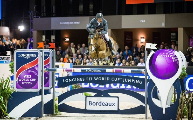 Longines FEI World Cup Jumping; Bordeaux; Kevin Staut;